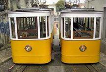 Lisboa e os Elevadores / Os elevadores surgiram em Lisboa no final do século XIX, dada a  crescente necessidade de acesso aos pontos altos da cidade das sete colinas. Além do sua função facilitadora de mobilidade, acresce o interesse turístico que representam.