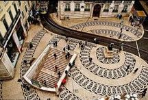 Lisboa e a calçada portuguesa