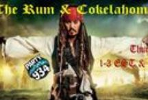 The Rum & Cokelahoma Show Podcasts / DJ Pirate on Podcast now with a  mix of all fun where the rum never runs out and the music flows from pop, rock, country, jazz, blues, Indie & almost anything ye can imagine! Tune in djpiratesparrow.com