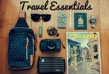 Travel Essentials / A collection of must-have items for your adventures this summer!