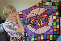 Quilts - Stained Glass or Window