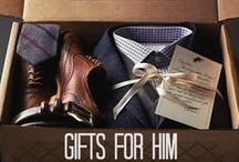 Gifts for Him / Find the perfect gifts to treat the men in your life