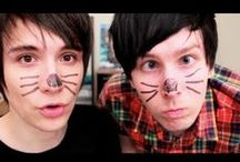 DAN and PHIL <3 <3 / for all of you Dan and Phil lovers out there here it is for you if you follow this board i will add you to it i need as much pins as possible so plz follow and as always LOVE U ALL!