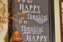 THANK YOU!! / Thanksgiving stuff