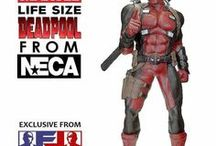 LIFE SIZE AND BEYOND / Here you will see life size figures and statues that can be available or they are currently being looked at by Figureland as additional products.
