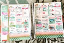 Planner Chicks' Layouts! / Our customers using PCD stickers in their planners!