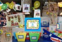 """Zirkus / Sammlung zur Inspiration für einen Kindergeburtstag mit dem Motto """"Zirkus"""""""
