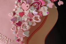 Valetines Cakes / Ideas for Valentines Www.thebigdayplanning.com Www.hostesspro.co.za Crafts and Sugar Crafts