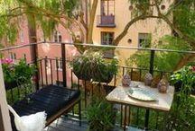 """Day dream """"My Balcony"""" / Urban balcony"""