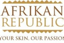 Afrikan Republic Product Line... / Made with natural and organic ingredients. Products cruelty free - no animal testing.