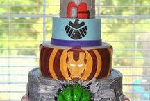Superhero Cakes / Superhero cake ideas.