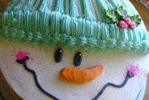 Christmas Themed Cakes / Christmas Holiday Cakes