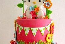 Hello Kitty cakes / Hello Kitty cake ideas