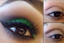 Eye Make-Up / Eye make-up for women all over the world. The Indians, Pakistanis, Americans, Asians, Africa Americans and women who wear the Hijab. Enhance your eye color or shape with these make-up tips. Please pin and follow and we will follow you.