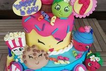 Shopkins Cakes & Treats / Shopkins themed cakes, cookies, and other treats.