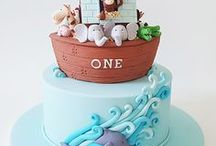 Noah's Ark Cakes / Noah's Ark cake ideas and designs.