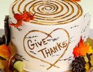 Fall and Thanksgiving Themed Cakes / Cake ideas for Fall and Thanksgiving