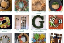 Crafties-Wreaths & Center Pieces / by marybeth mainard-giffin