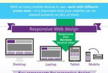 Responsive Website Design Infographics and Information