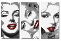 Pop Art Paintings / Our favourite pop art paintings to buy online - the best canvas pop art paintings from the Modern Canvas Art website at http://www.modern-canvas-art.com/classic-pop-art-paintings-63-c.asp