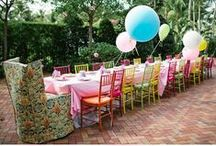 Party Ideas / Lot's of fun party ideas to spark your imagination. Memorable get togethers are great opportunities for photo's