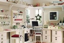 Creative Spaces / Ton's of great ideas for organization and creative craft rooms. / by All Scrapbook Steals