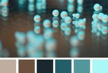 Color Paletts / Cool color combinations / by All Scrapbook Steals