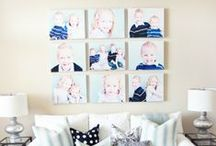 Wall Galleries / Great ways to display photos!
