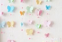 Banners / Scrapbooking and craft ideas! Party and holiday banners.