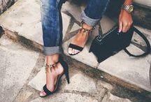 High heels | click clack