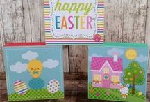 Wood Projects / Fun ideas using scrapbook supplies and wood!