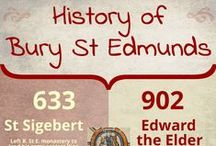 """Bury St Edmunds / Our home town of Bury St Edmunds - historic Suffolk town that is the """"shrine of a king and cradle of the law""""."""