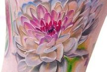 Flower Power Tatoos / Gorgeous floral ink to inspire you! / by Kozy Kat Werks