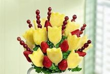 Edible Bouquets / Yep...beautiful for the eyes and exquisite for taste