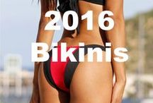 2016 Bikinis / Browse the hottest bikinis for 2016. Breathtaking swimwear in a wide range of styles colors and designs all new for 2016 #2016 #bikinis