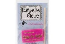 Embellie Gellie Ideas / #EmbellieGellie, #Picksupbeads, #jewels #gems, #buttons, #sequins, #charms, #punchedshapes, #confetti, and safe for #decoratingcakes, #cookies, #confections, #scrapbooking, #punchart, #Jewelrymaking, #Baking