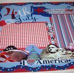 4th of July & Summer Crafts, & Layouts / #FourthOfJuly, #FourthOfJulyScrapbookPages, #FourthOfJulyLayouts, #Fireworks, #4thOfJulyScrapbookPages, #4thofJulyCards, #FourthOfJulyCards, #SummerScrapbookLayouts, #SummerLayouts, #SummerScrapbookPages, #SummerCards,
