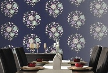 Amy Butler's wallpaper for Graham & Brown / by Amy Butler