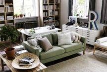 Living Room / Yaşam Alanları - Oturma Odaları - Salon