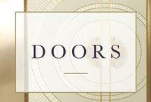 DETAILS • doors