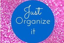 Organization...My happy place! / Tips and things I do to help me survive life with ADHD and raise two adhd children! Check out more at :www.3withadhd.com