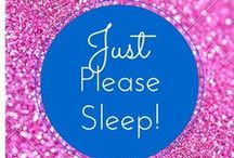 Just Please Sleep! / See more great ways to get your child to sleep on our blog! htttp://www.3withadhd.com #sleep #adhd #kids #sleepproblems #naturally