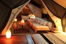cozy places / Cabins, rooms, houses, attics and reading nooks - this is a board for everythig cozy.