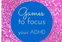 Games for ADHD / Games to help focus your #adhd...Learn more tricks at  htttp://www.3withadhd.com