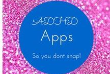 ADHD APPS / ADHD can be ruff, so we have put togethor some favorite Apps so you dont snap!