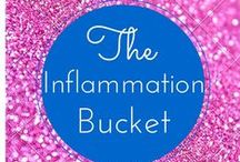 The Inflammation Bucket / Help figure out what foods, chemicals and environmental factors trigger your inflammation.