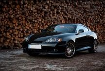 Hyundai Coupe Tiburon Tuscani GK / Set of inspirational car design based on Hyundai Tiburon, Coupe, Tuscani GK.