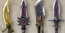 Weapon & equipment designs