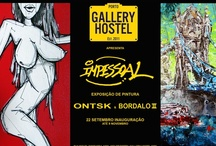 Art Gallery / Gallery Hostel produces frequent exhibitions and promotes portuguese artists.