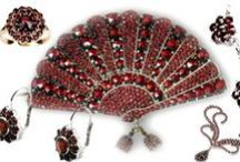Jewelry - Bohemian Rosecut Garnets / by Mickie McCord